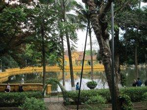 Ho Chi Minh's Vestige at the Presidential Palace Area - the Gardens