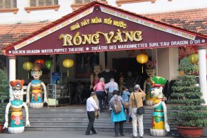 Golden Dragon Water Puppet Theatre  - there are only 4 puppet shows remaining in Vietnam