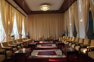 Independance Palace - room where visiting dignitaries were met