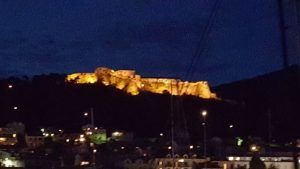 Hvar - Fortress at night