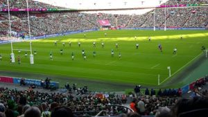 IRB World Cup Rugby - Ireland vs Romania