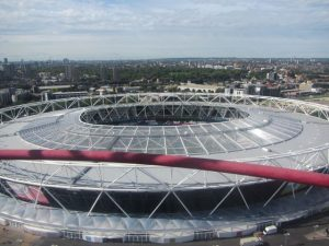 Queen Elizabeth II Stadium at Olympic Park - West End