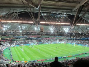 QEII - Olympic Stadium - New Zealand vs Namibia