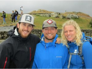 Jonathan, Max, and Heidi - our Backroad's Guides for our Northern Island Multipart Adventure.