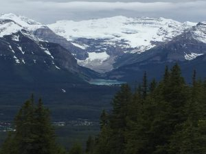 Lake Louise from the Other Side of Bow Valley
