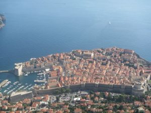 Dubrovnik from above !