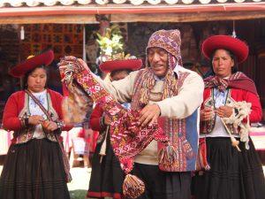 Local village weavers