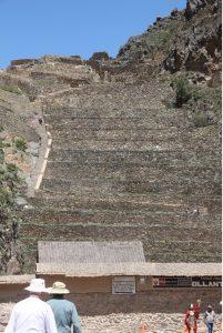 Incan Ruins at Ollantaytambo