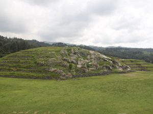 One of the mounds at Sacsayhuaman